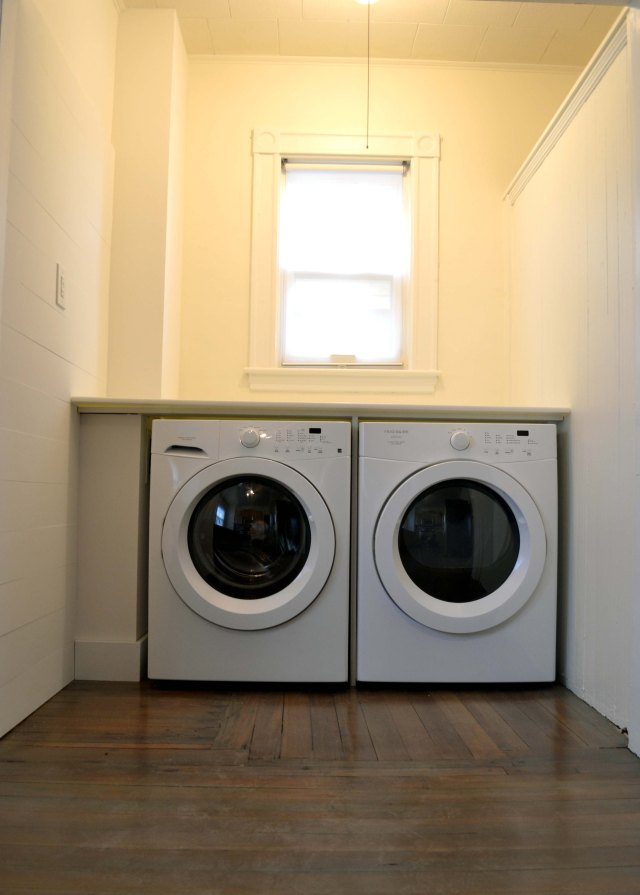 laundry nook after