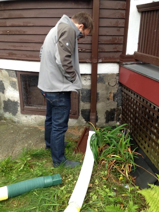 fixing gutters
