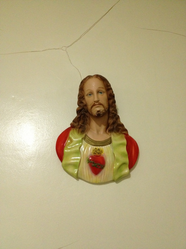 jesus on the wall