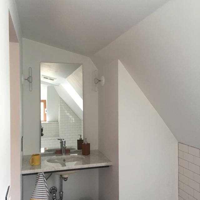 Third floor vanity